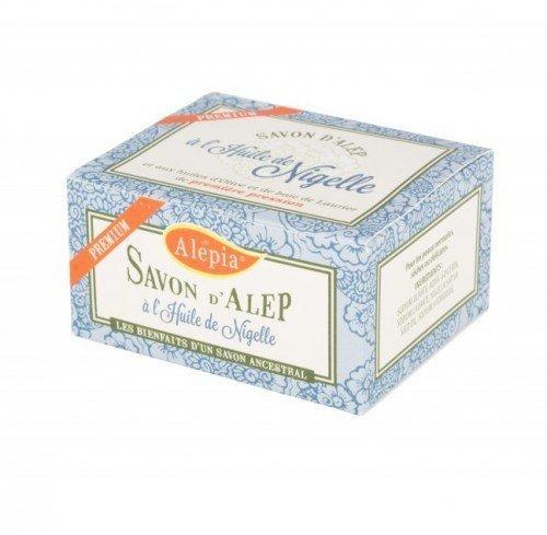 ALEPIA Mydło d'Aleppo Premium z Czarnuszką Nigellą 125 g