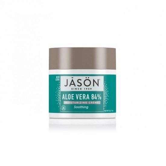 JASON Nawilżający krem do twarzy i ciała 84% ALOES 113g