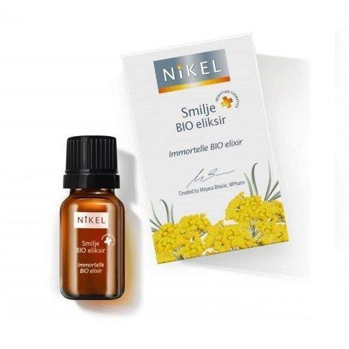 NIKEL Antyoksydacyjny eliksir 100% naturalny z wyciągiem z kwiatu Immortelle 10ml
