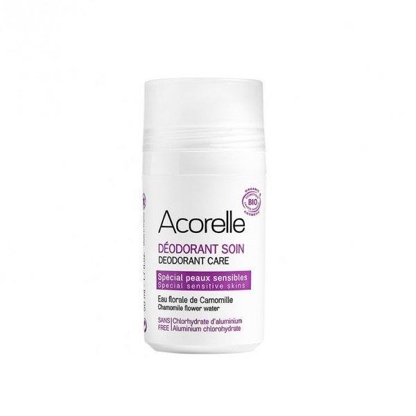 ACORELLE Organiczny dezodorant w kulce do skóry wrażliwej ECOCERT 50ml