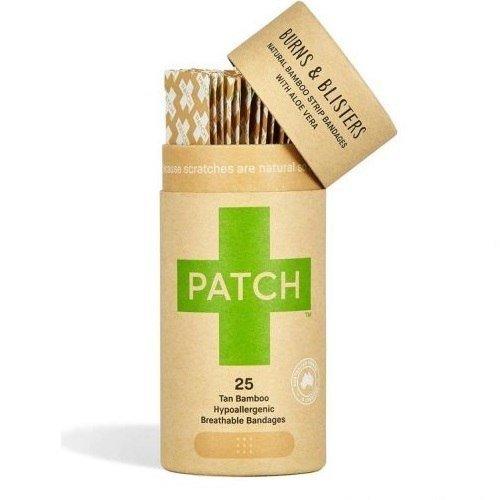 PATCH Naturalne bambusowe plastry samoprzylepne z aloesem 25 szt.
