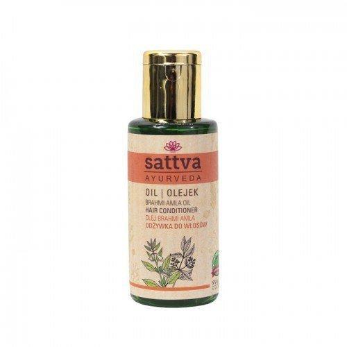 SATTVA AYURVEDA Olejek ziołowy przyspieszający wzrost włosów Brahmi Amla 100ml