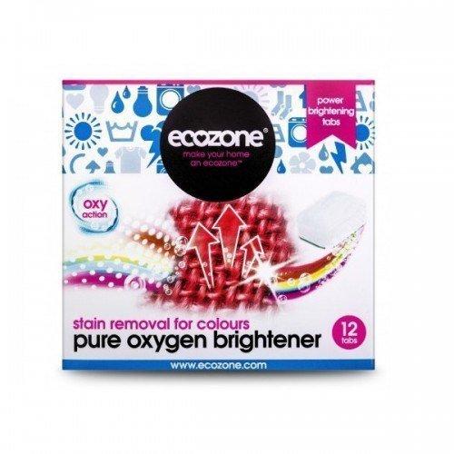 ECOZONE Odplamiacz do kolorów pure oxygen 12 tabletek