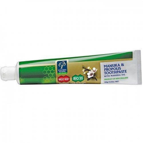Manuka MGO Pasta do zębów z Miodem 400+ Propolisem BIO 30 i Olejkiem Manuka(100 ml)