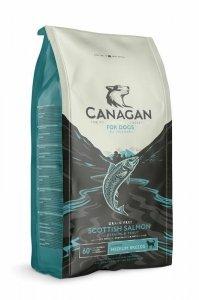 Canagan Scottish Salmon 12kg Z łososiem Bez zbóż dla Psów z alergiami pokarmowymi