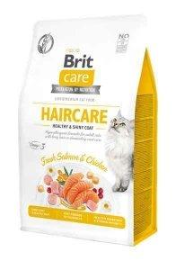 Brit Care Haircare 2kg zdrowe i błyszczące kocie futro