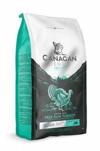 Canagan Dental Free Run Turkey 4kg Zdrowe zęby Kota