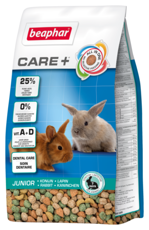 beaphar Care+ Junior sucha karma dla młodego Królika 250g