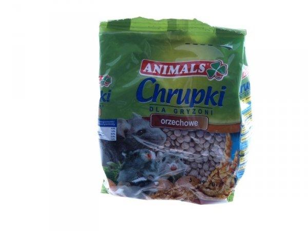 Animals Chrupki Orzechowe dla Gryzoni 100g