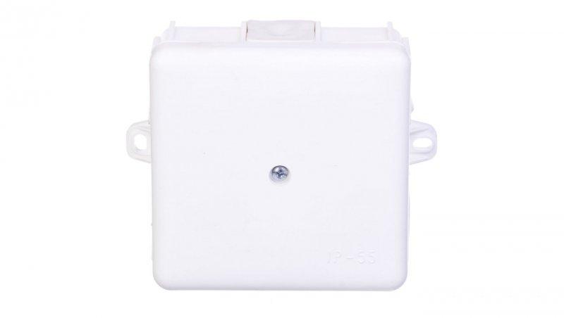 Puszka natynkowa hermetyczna odgałęźna 6 wyjść IP55 biała MZ EP-LUX 0226-11