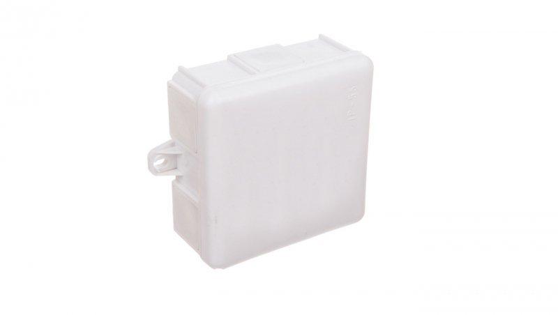 Puszka natynkowa hermetyczna odgałęźna 6 wyjść IP55 biała MZ EP-LUX 0226-10