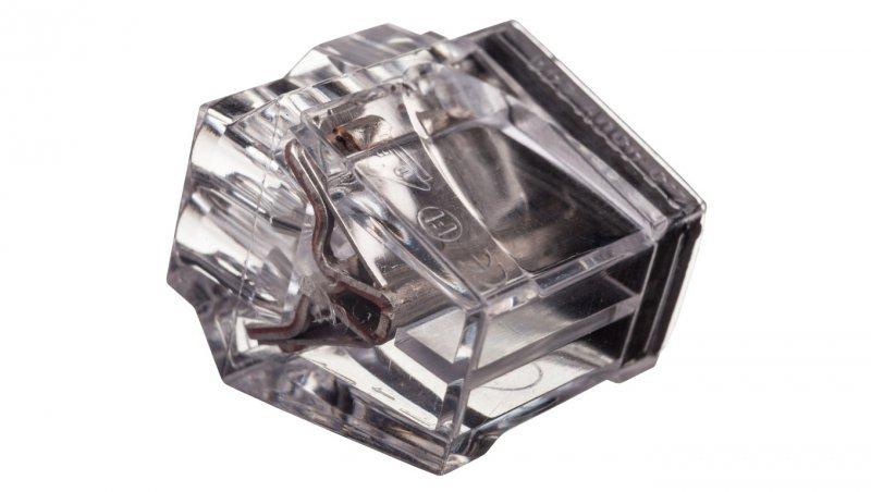 Szybkozłączka 8x1-2,5mm2 transparentna PC258-CL 89005000 /50szt./