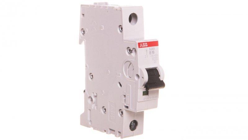 Wyłącznik nadprądowy 1P B 16A 6kA AC S201-B16 2CDS251001R1165