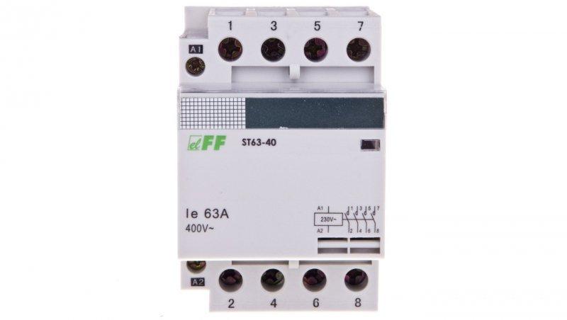 Stycznik modułowy 63A 3Z 1R 230V AC ST63-31