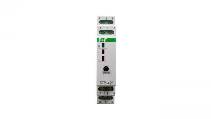 STR Sterownik rolet 24V biały 50-60Hz IP20 STR-421-24V