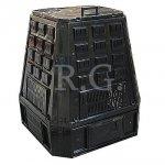 Thermokomposter 630 L schwarz