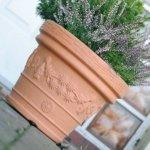 Blumentopf Pflanztopf Massiv decora 35 terrakotta