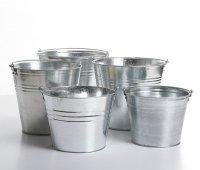 Metalleimer Eimer Wassereimer 10 L