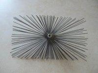 Schornsteinbesen Rechteckig Kaminbesen aus Stahl 18 x 20cm