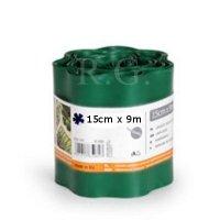 Rasenkante 15cm x 9m in dunkelgrün