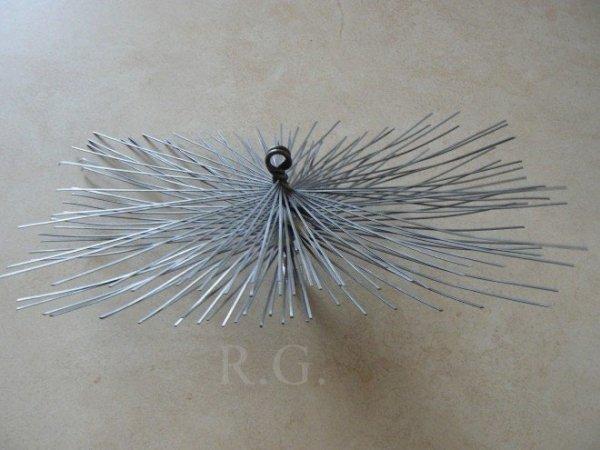Schornsteinbesen Rechteckig Kaminbesen aus Stahl 20 x 24cm