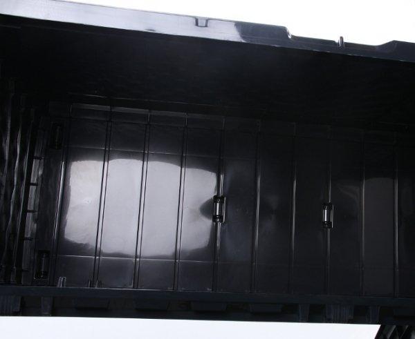 Gartenbox Auflagenbox Truhe Box Geflecht-Anthrazit