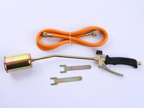 Gasbrenner Brenner Unkrautvernichter Dachbrenner + Adapter