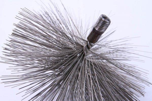 Schornsteinbesen Kaminbesen aus Stahl 15cm
