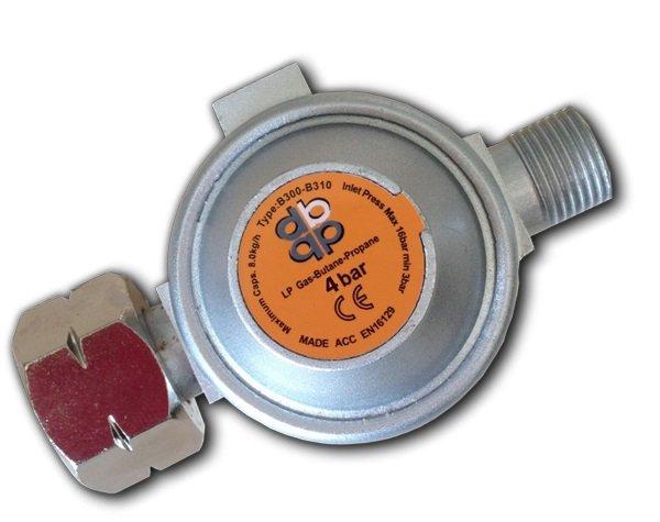 Druckregler Druckminderer Gasregler Regler für Abflammgerät 4 bar