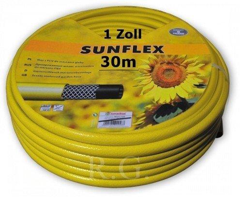 Gartenschlauch Sunflex 1 Zoll Wasserschlauch Schlauch 30 M