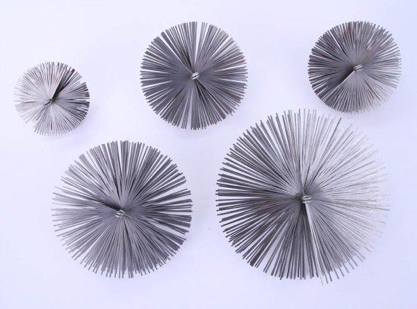 Schornsteinbesen Kaminbesen aus Federstahl 12,5cm