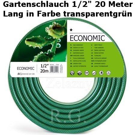 "Gartenschlauch Econ 1/2"" 20 Meter Lang"