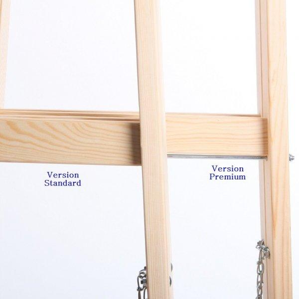 Leiter Holzleiter Klappleiter Haushaltsleiter 4 Stufen Standard