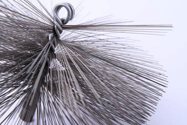 Schornsteinbesen Kaminbesen aus Stahl 50cm