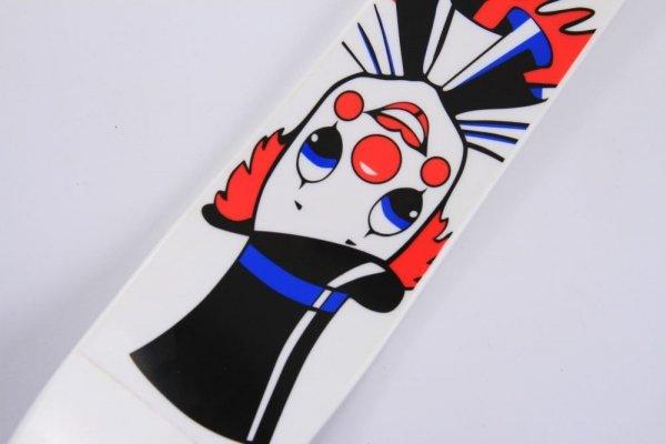 Kinderski Babyski Lernski 70cm Weißer Clown