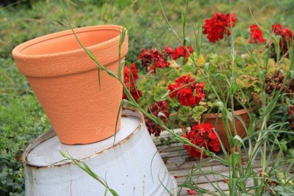 Blumentopf Pflanztopf Massiv classic 30 anthrazit