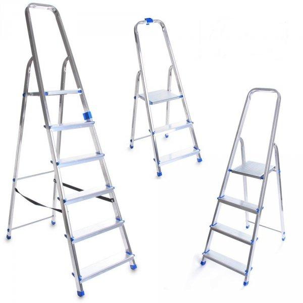 Leiter Aluleiter Einseitige Klappleiter 2 Stufen
