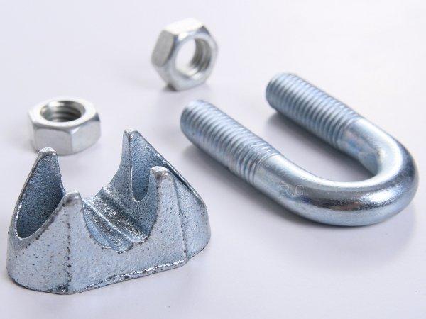 10x Drahtseilklemmen Seilklemmen für Stahlseil 5 mm