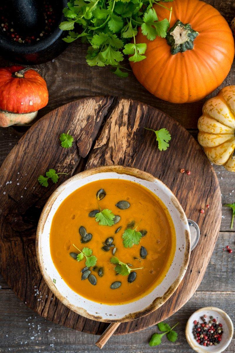 Zupa krem marchew-dynia zagęszczona 350g = 2 porcje