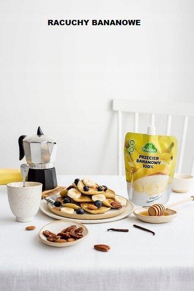 Przecier (mus) owocowy 100% bananowy 350 g x 10 szt