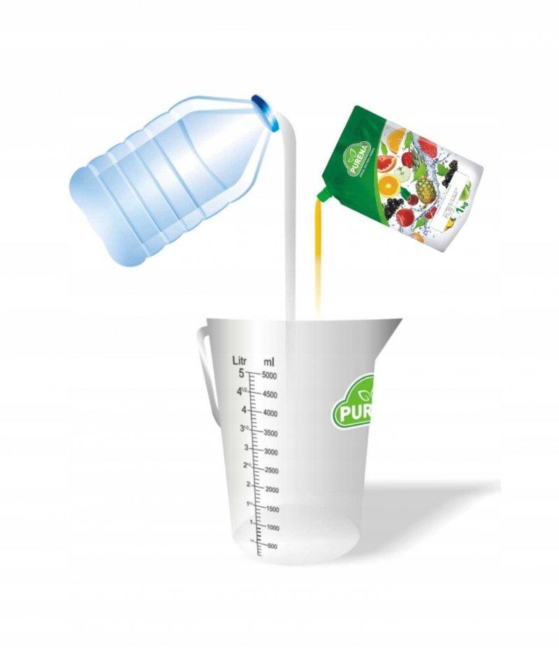 Lemoniada rabarbarowo - cytrynowa koncentrat 6l/1kg