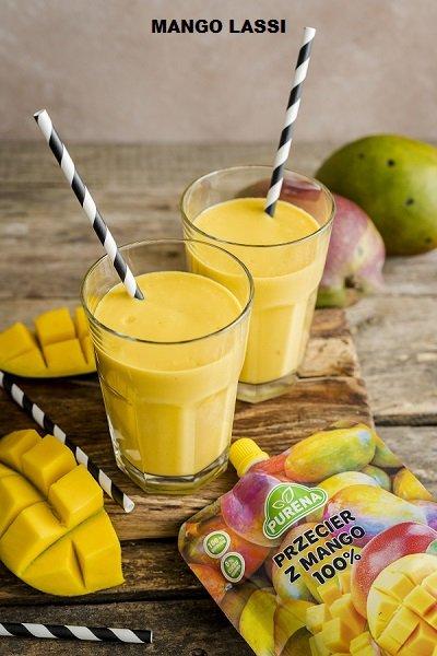 Przecier (mus) owocowy 100% z mango 350g
