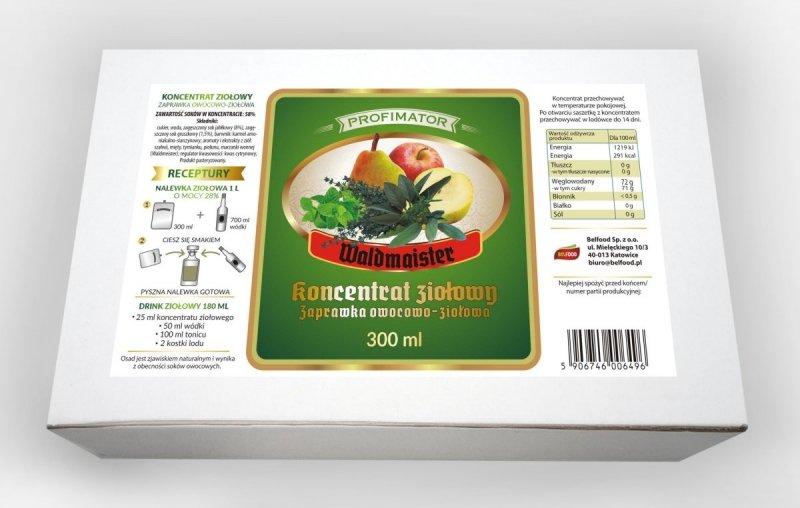 Rozgrzewający pakiet zaprawek na odporność 3l/900ml