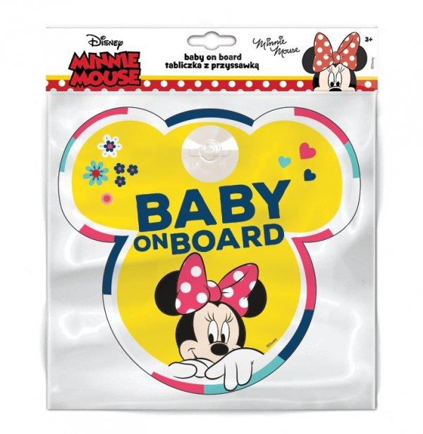 BABY ON BOARD Schild  Disney MINNIE MOUSE