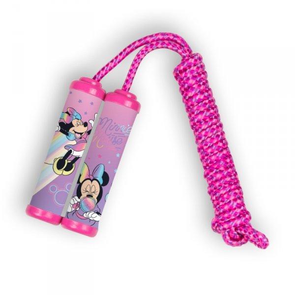 Springseil MINNIE MOUSE Disney Kinder Sprungseil Hüpfseil Seilspringen PINK 220cm