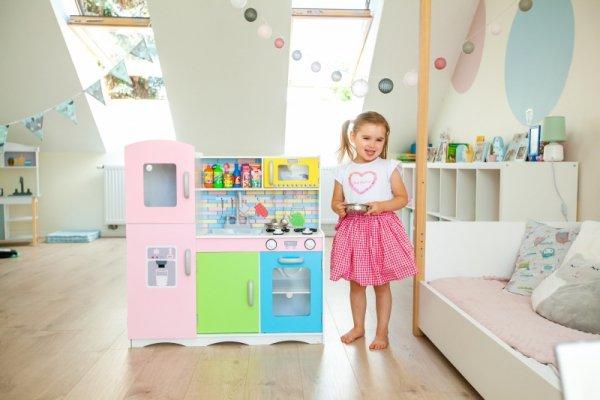 Holzküche Spielküche Kinderküche Spielzeugküche Kinderspielküche Kinder Spielzeug + Ausstattung