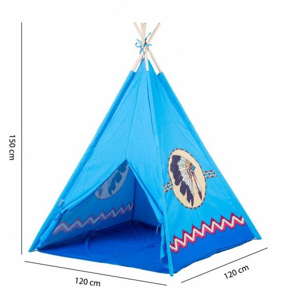 Zelt Spielhaus Kinderzelt Indianerzelt Tipi Spielzelt Wigwam Garten Kinderspaß