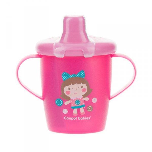 Trinklernbecher von Canpol Babies-Rosa