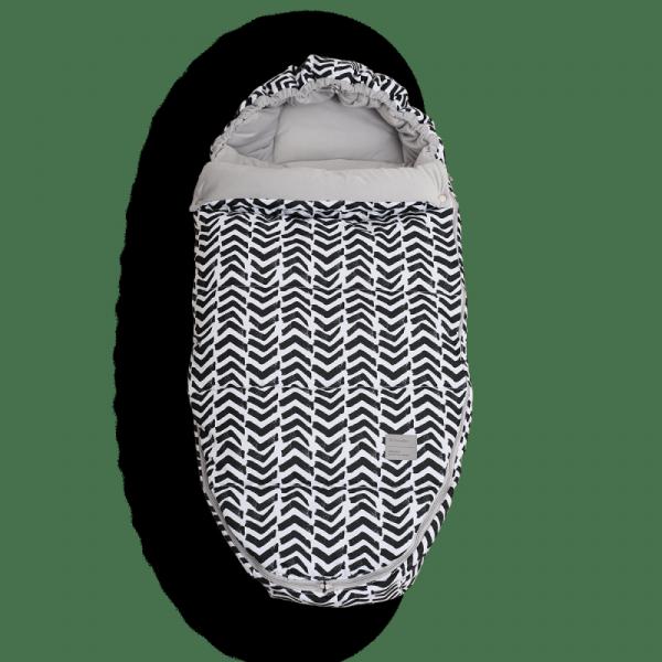 Fußsack X-COSY ART - Frenzy Zebra