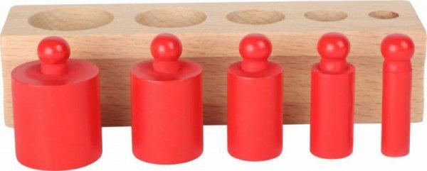 Waagengewichte-Steckspiel Gewichte Spielwaage